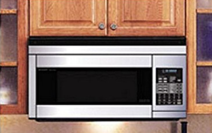 convection microwave oven 1 0 cuft black w trim kit rv 185b con