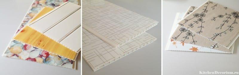 потолок из пластиковых панелей на кухне фото дизайн 3