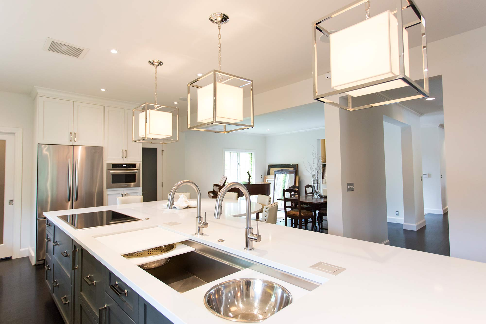 open kitchen sink remodeling sacramento elegant and galley workstation large stainless steel white done right 10