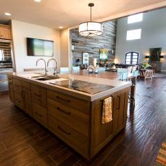 Open Kitchen Sink Master Forge Modular Outdoor Back At The Ranch 4 Rustic With Galley Workstation Share This