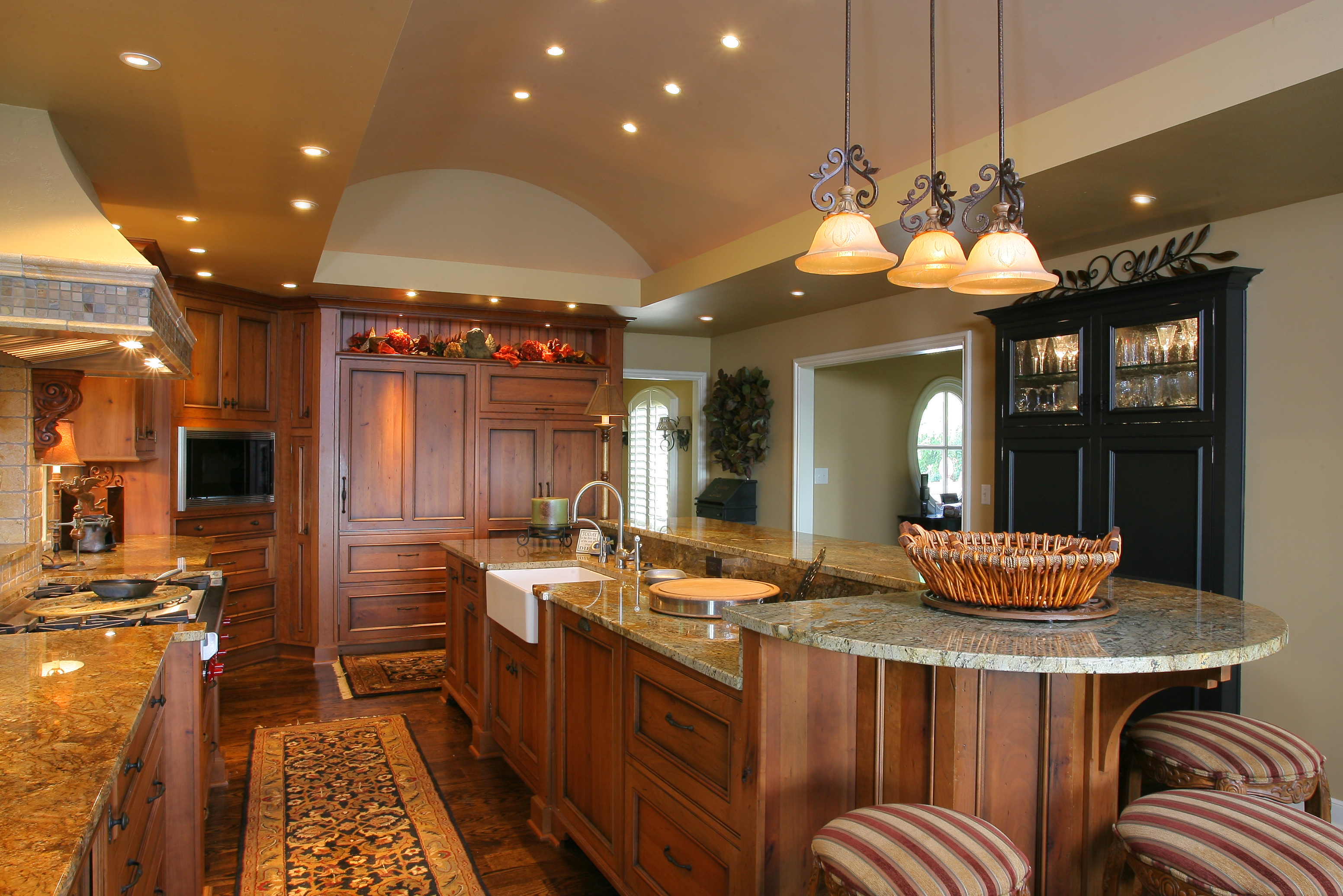 two tier kitchen island decorative plates for wall level gallery of bilevel countertop