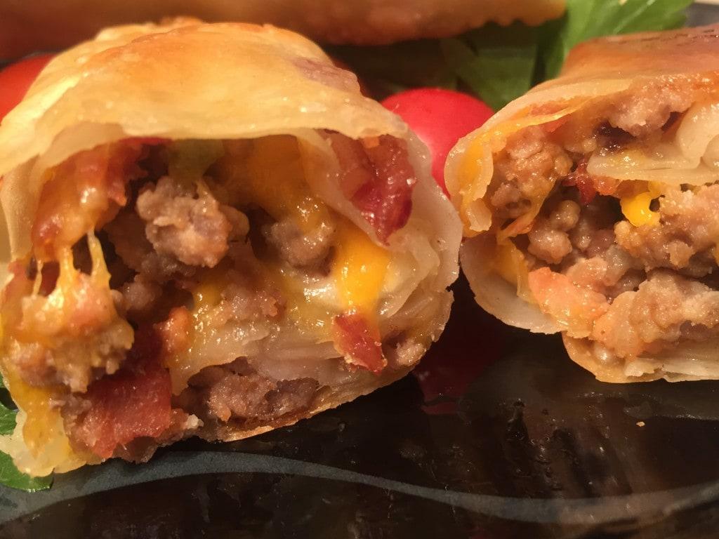 perfect bacon cheeseburger egg