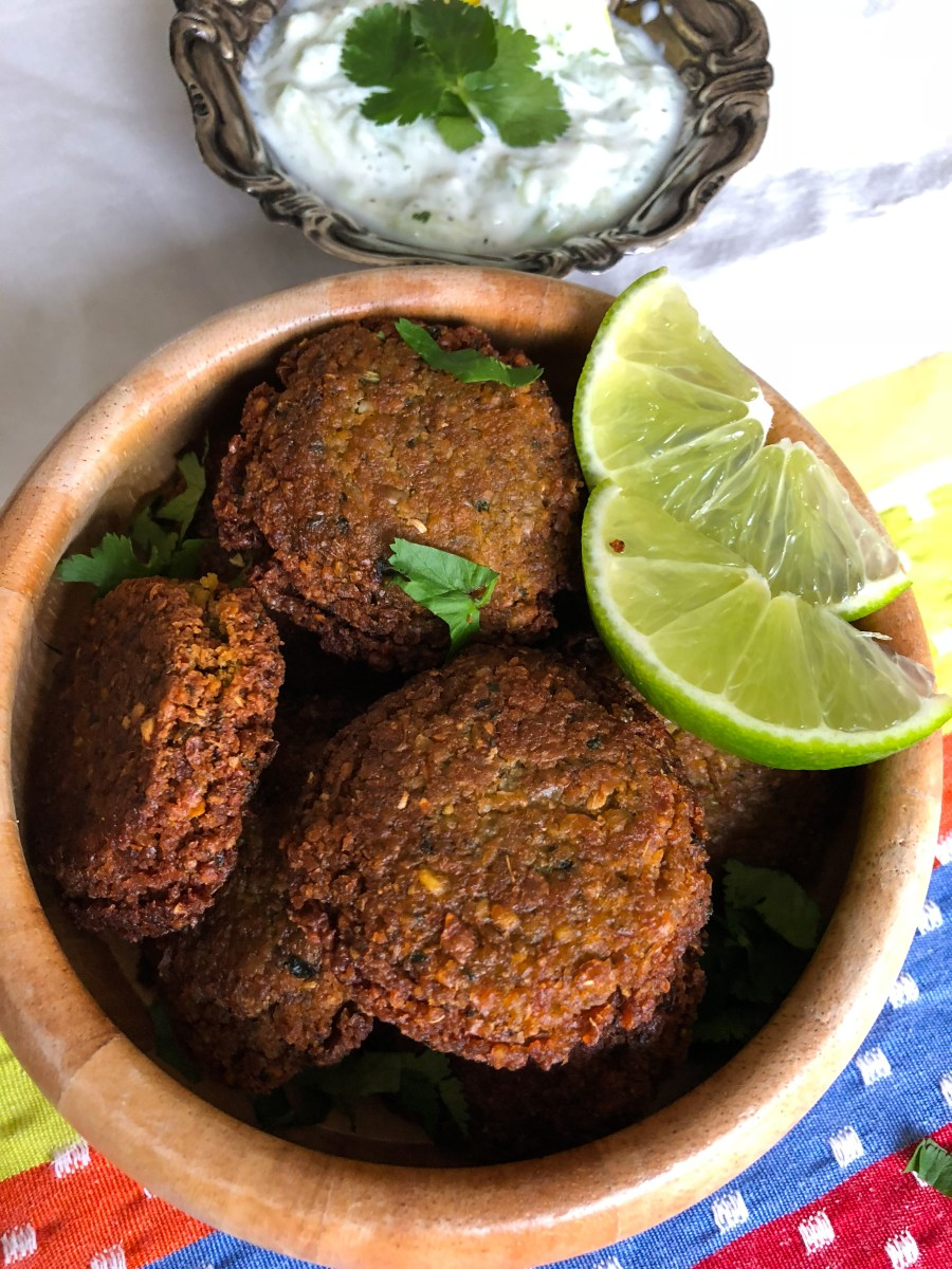 Easy Falafel Recipe with Tzatziki