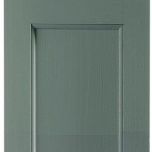 Solid Wood-Beaded Dust Grey Door
