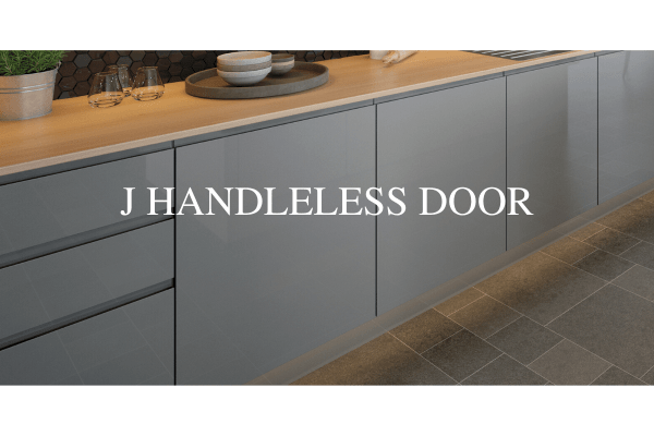 J Handleless Door