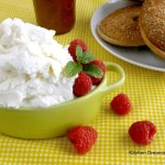 This Homemade Ricotta Cheese takes just 4 simple ingredients and about 15 or 20 minutes to make. #Italian #Fresh #Cheese #Ricotta #Homemade