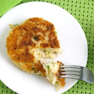 Boxty - Irish Potato Pancake on a plate