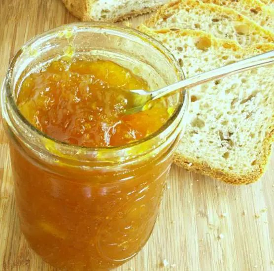 Small batch Pineapple Jam needs no pressure canning or pectin and yields a delicious and simple fresh pineapple jam in which you control the ingredients. | KitchenDreaming.com |