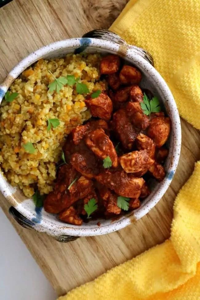 Easy Chicken Vindaloo