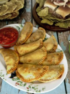 Beef Empanadas are easy to make and are a great addition to any tapas or party menu.   KitchenDreaming.com  
