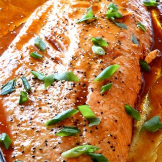 Asian Salmon is tender, flaky and delicious -- and ready in just 20 minutes!.