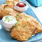 Baked Hashbrown Patties are crispy on the outside with a fluffy center without frying! These are a favorite on-the-go breakfast.