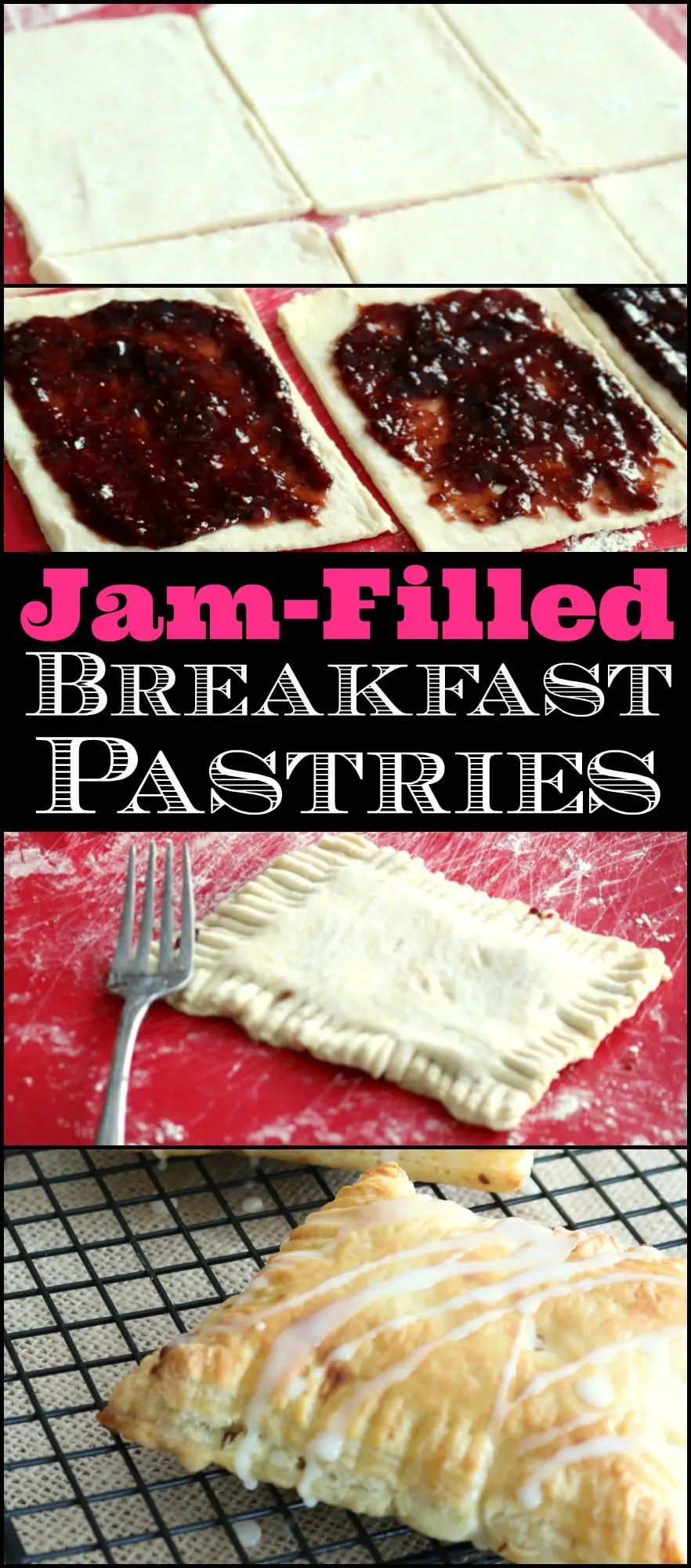 A pinnable Pinterest image of Breakfast Pastries.