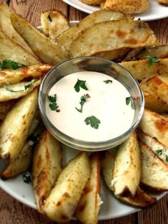 Parmesan Ranch Roasted Potatoes