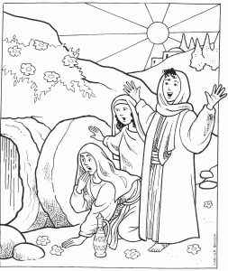 empty-tomb-coloring-page-inspirational-the-tomb-is-empty
