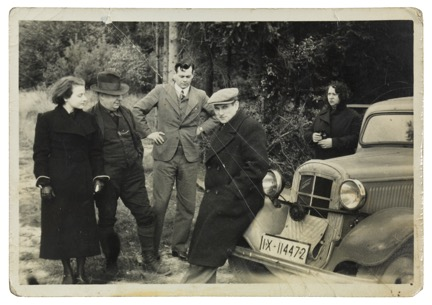 Walter Brill - with friends in Herzebrock, Germany.