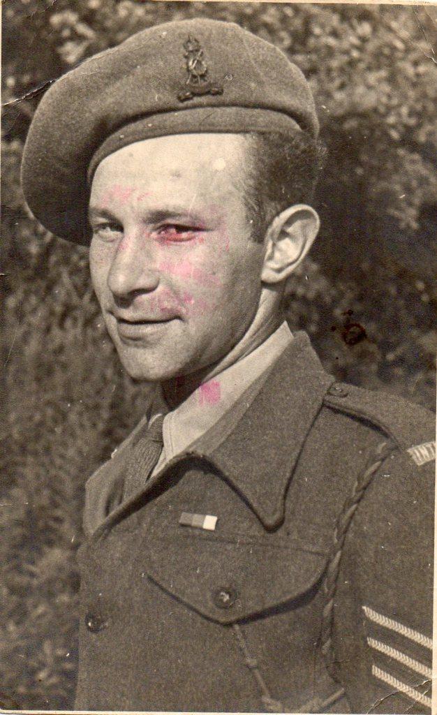 Willi Reissner, Pioneer Corps, 1945