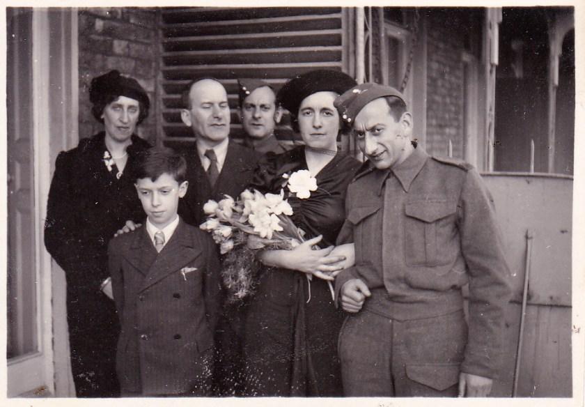 Richborough camp 1939, Heinrich Vulkan, wedding day