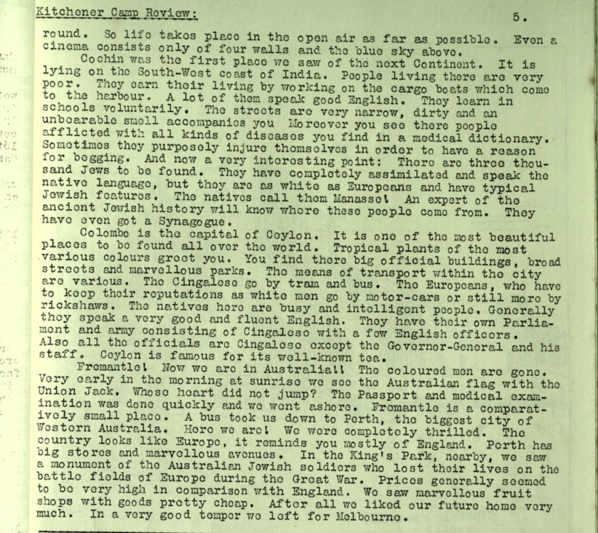 KC Review, no. 7, September 1939, page 5, top