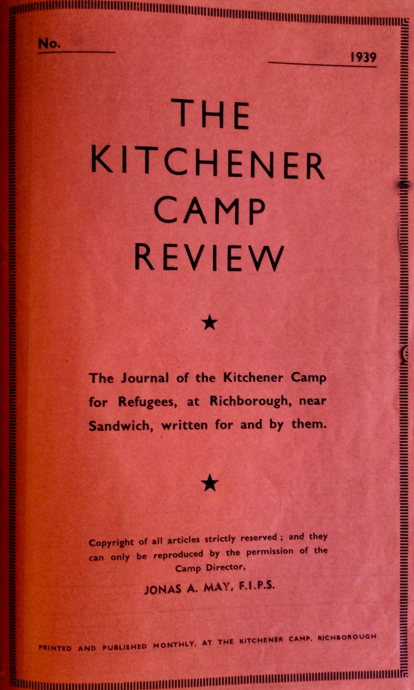 Kitchener Camp Review, Cover