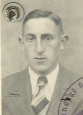 Kitchener camp, Josef Frank, Reisepass, 1939