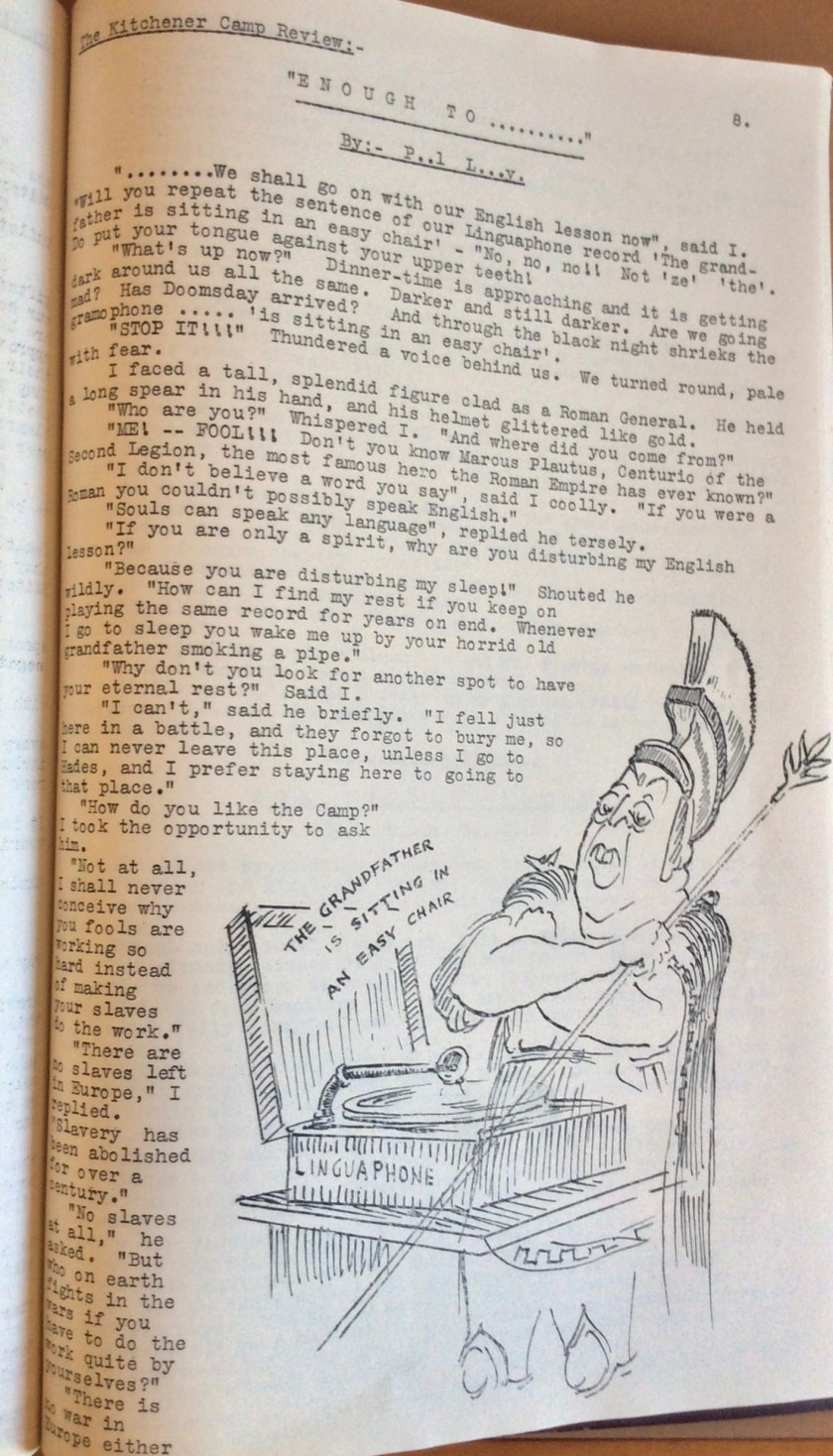 The Kitchener Camp Review, August 1939, page 8