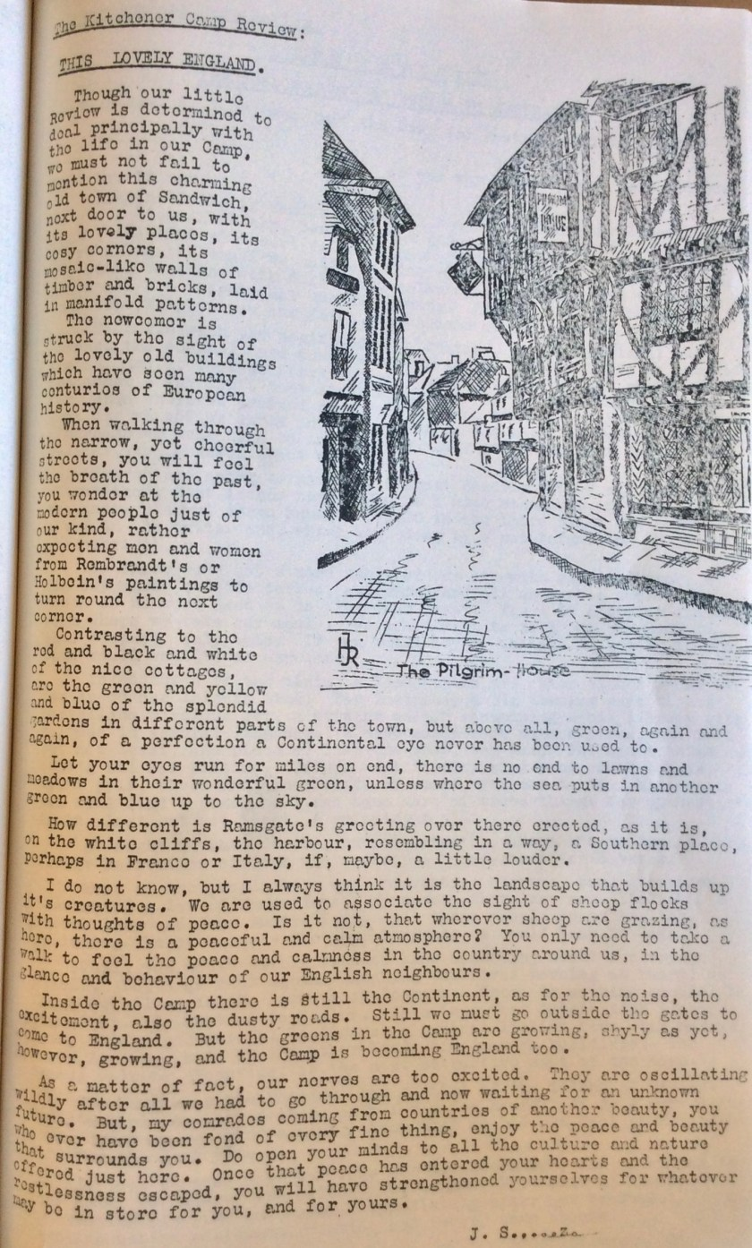 The Kitchener Camp Review, July 1939, No. 5, page 8