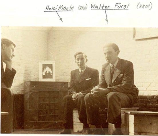 Kitchener camp, Peter Weiss, Autobiography, Heini Mantel, Walter Fürst, 'A Home Corner'
