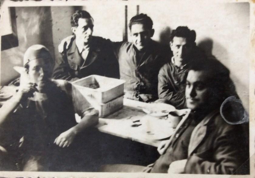 Kitchener camp, Julius Gildener, subjects unknown
