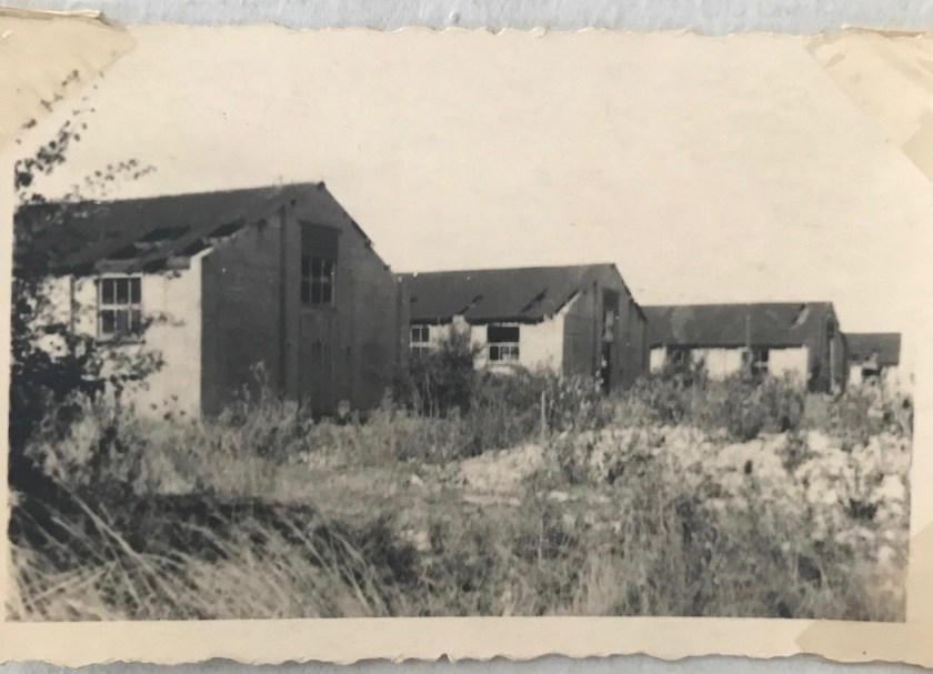 Kitchener camp, Berlin ORT, Gerhardt Wolf, Huts