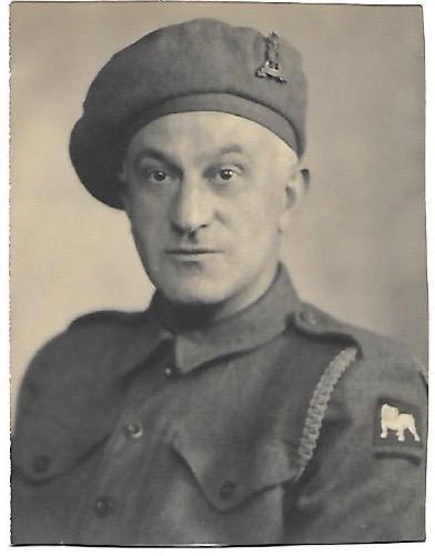 Kitchener camp, Max Israelsohn, Pioneer Corps
