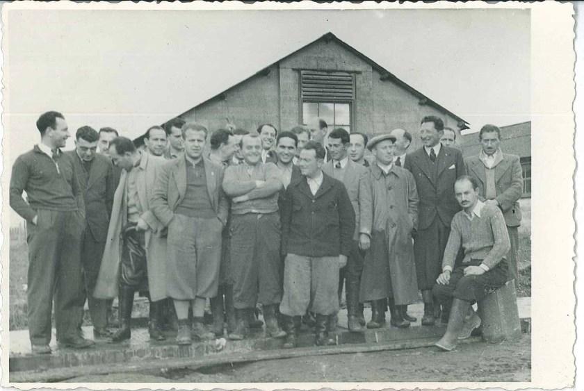 Kitchener camp, Richborough, Franz Schanzer, Third from the left