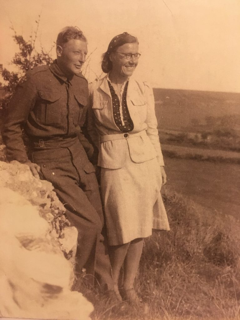 Werner Horst Philippsen and wife