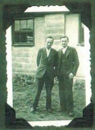 Kitchener camp, family album, Herbert Mosheim, Ernst Levi