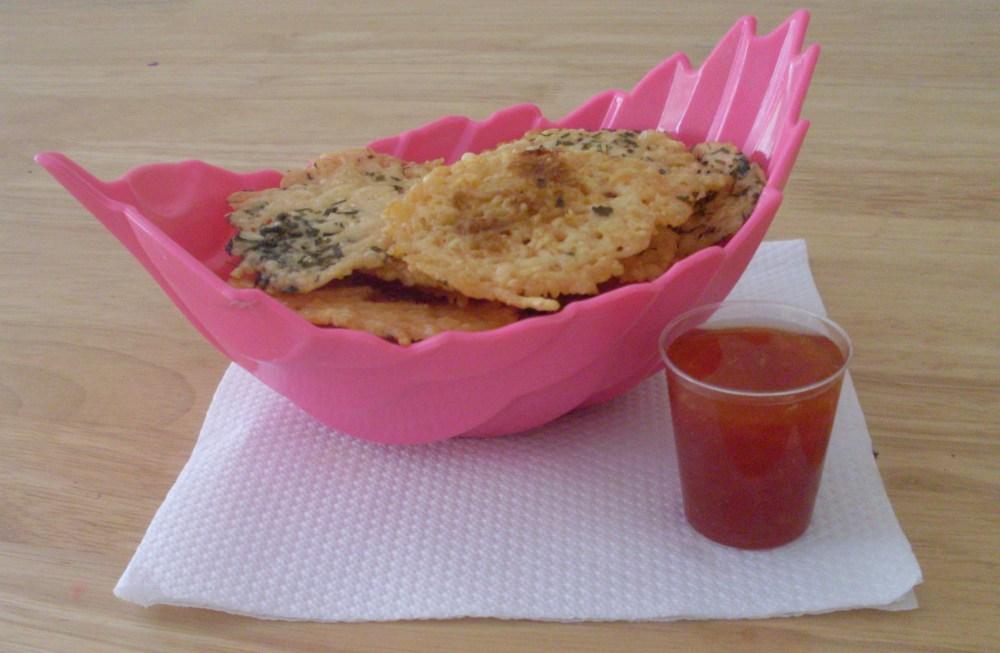Parmesan Crisps (2/2)