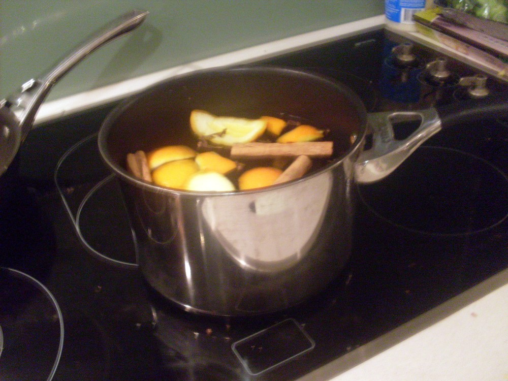 Hot apple cider (1/3)