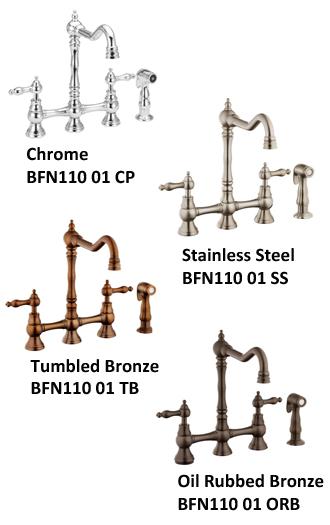 pull down kitchen faucet reviews best island belle foret bfn11001cp bridge review - ...