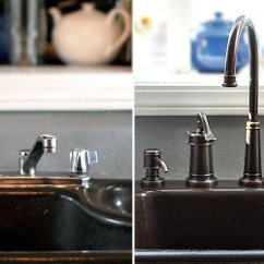 Price Pfister Kitchen Faucets Swanstone Single Bowl Sink How To Remove And Replace A Faucet - ...