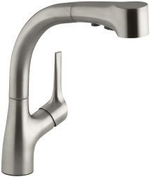 kohler kitchen faucet oval table reviews of the most popular models elate pullout