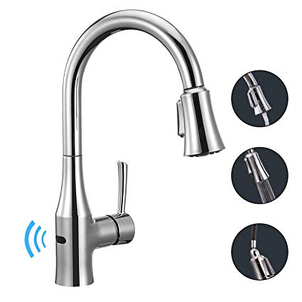 Best Touchless Kitchen Faucet Reviews 2019: Motion Sensor