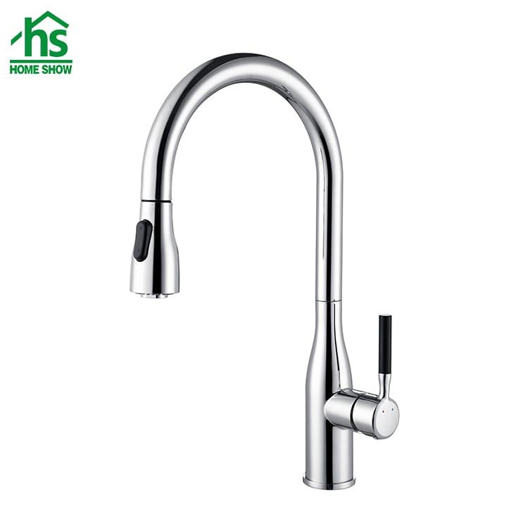 chrome kitchen faucet c031427