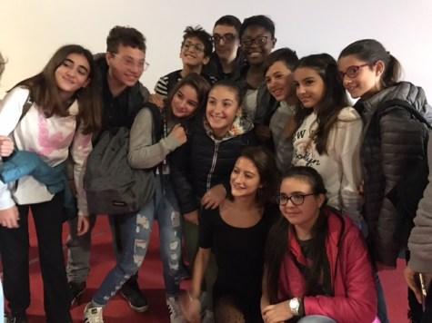 Lola CRÉTON e i ragazzi di Palermo