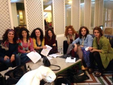 Donatella Salviola, Valentina Piccolo, Bruna Galanto, Francesca Danese, Isabella Careccia, Antonella Bruni, Maria Di Fusco
