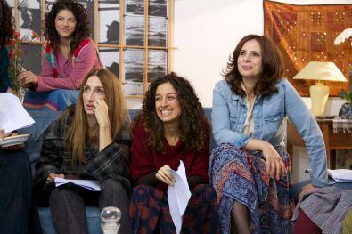Giselda Volodi, Valentina Piccolo, Francesca Danese, Antonella Bruni