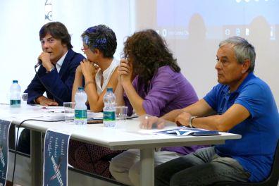 Paolo Tenna, Mercedes Fernandez Alonso, Alessandro Gaido, Arrigo Tomelleri