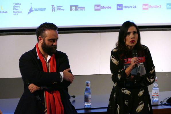 Vittorio Sclaverani, Caterina Taricano