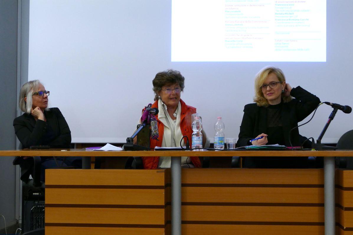 Emanuela Piovano, Pia Locatelli, Francesca Russo