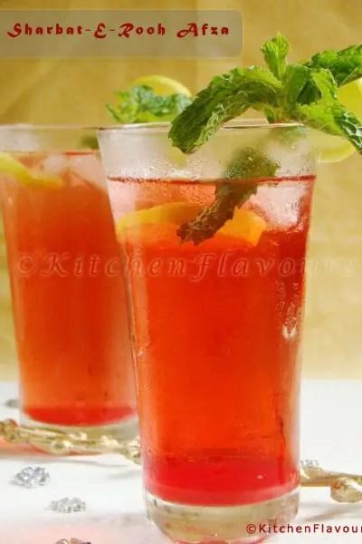 Sharbat-E-Rooh Afza – Easy & Refreshing Summer Drink