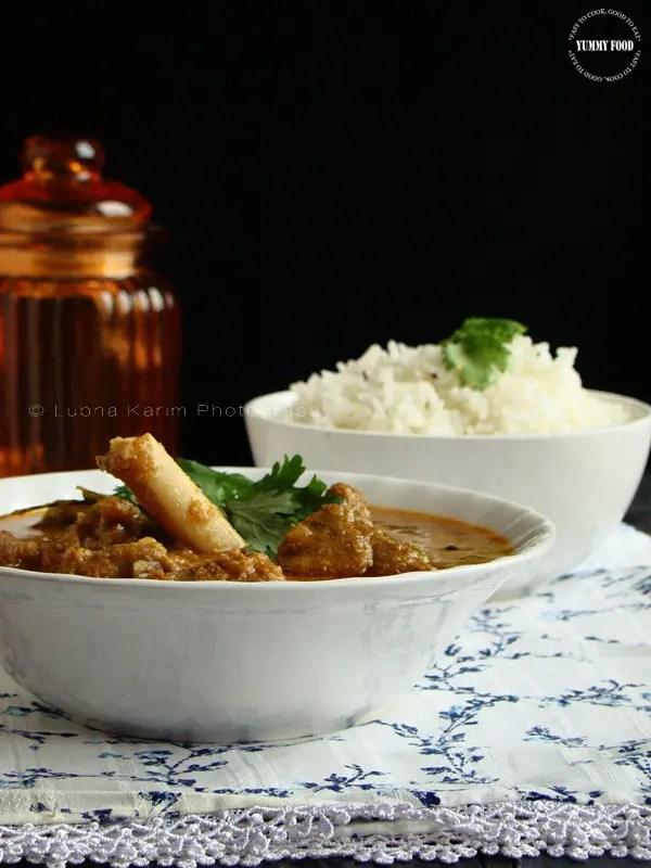 Hyderabad Style Mutton Recipe