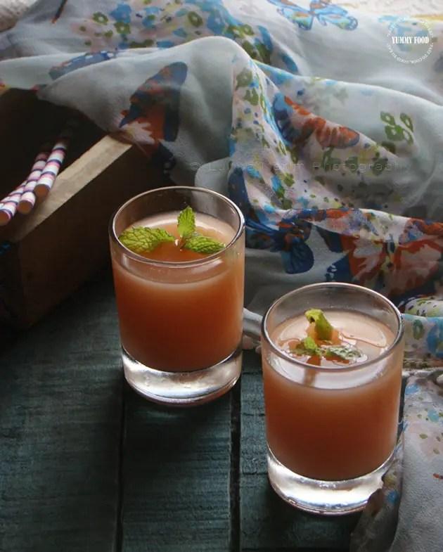 Guava Agua Fresca goes Indian